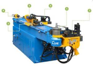 CSM 65 TSR CNC hidraulikus csőhajlító
