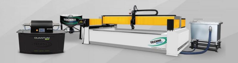 Techni Waterjet Intec G2 vízsugaras vágógép